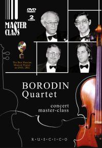 Borodin Quartet - Concert Master-Class (Kvartet im. A.P.Borodina. Kontsert i master klass) (RUSCICO) (2 DVD Box Set) - Kvartet Imeni  A P Borodina