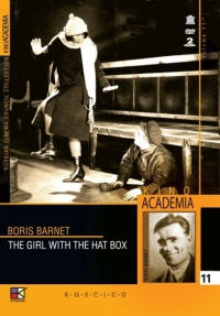 DVD The Girl with the Hat Box (Moskow Laughs and Cries) (Moscow That Weeps and Laughs) (Fr.: La jeune fille au carton à chapeau) (Devushka s korobkoy) (Kino Academia. Vol. 11) (Hyperkino) (RUSCICO) (2 DVD) - Boris Barnet, Serafima Birman, Vladimir Popov, Ivan Koval-Samborskiy, Vladimir Mihaylov