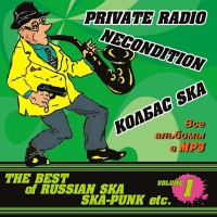 MP3 Диски Various Artists. The Best Of Russian Ska. Ska-Punk Etc. Vol. 1 (mp3) - Private Radio , Necondition , Колбас Ska