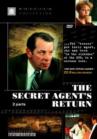 The Secret Agent's Return (Fr.:  Le Retour de l'agent secret) (Vozvrashchenie rezidenta) (RUSCICO) - Veniamin Dorman, Mikael Tariverdiev, Oleg Shmelev, Vladimir Vostokov, Vadim Kornilev, Petr Velyaminov, Georgiy Zhzhenov