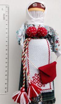Amulet-doll - Uspeshnitsa (handmade)