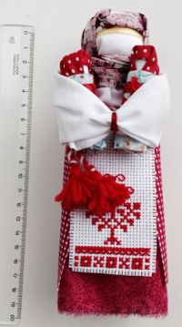 Amulet-doll - Bereginya Roda (Stolbushka) (handmade)
