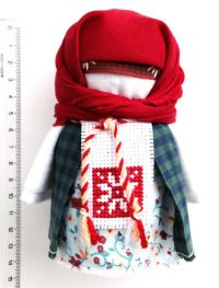 Amulet-doll - Krupenichka (Zernovushka) (handmade)