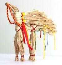 Amulet-doll - Solnechnyy kon (handmade)