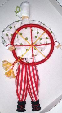 Amulet-doll - Spiridon-Solntsevorot (handmade)