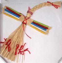Amulett-puppe - Desjatirutschka (handgemacht)