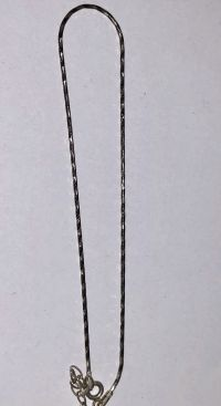 Серебряная цепочка на ногу - Изделия из серебра