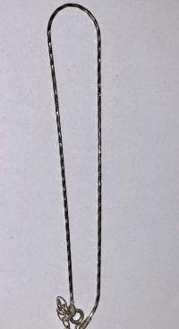 Serebrjanaja zepotschka na nogu - Silberschmuck