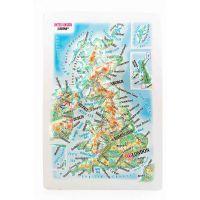 Maps United Kingdom. High raised relief panorama (Magnet/Mini)