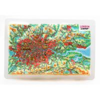 London. High raised relief panorama (Magnet/Mini)