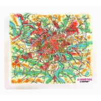 Paris. High raised relief panorama (Magnet/Mini)