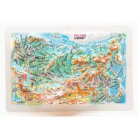 Maps Russia. High raised relief panorama (Magnet/Mini)
