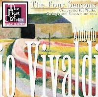 Antonio Vivaldi. The Four Seasons. Concertos for Violin, Strings and Basso continuo - Antonio Vivaldi