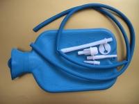 Грелка резиновая с насадками и шлангами 2 л. Тип Б-2