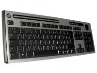 Клавиатура - немецко-русская, KU-0420, мультимедийная, USB