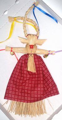 Кукла-оберег - Коза (ручная работа)