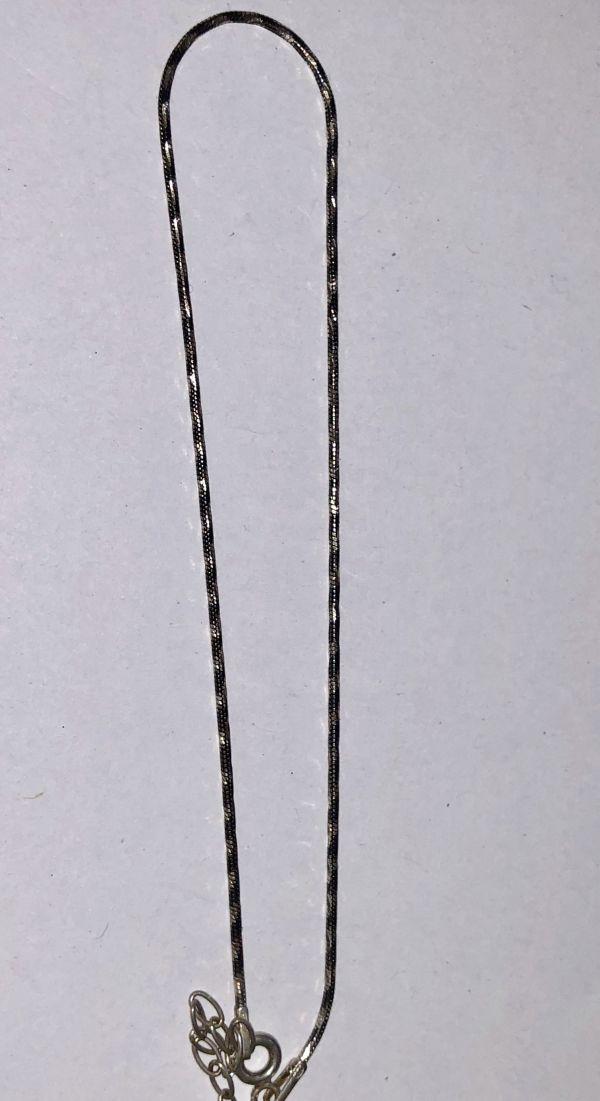 Silber Serebrjanaja zepotschka na nogu - Silberschmuck