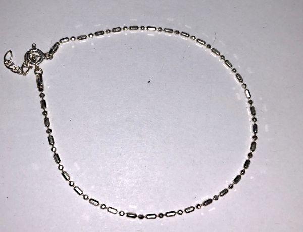 Серебро Серебряная цепочка на ногу - Изделия из серебра