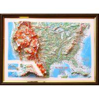 США. Высокообъемная панорама USA (3D map/Medium)