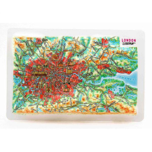 Карты Лондон. Высокообъемная панорама LONDON (Магнит/Mini)