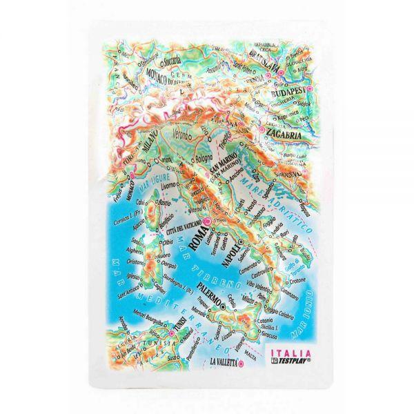 Карты Италия. Высокообъемная панорама ITALY(Магнит/Mini)