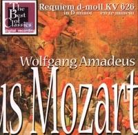 Wolfgang Amadeus Mozart. Requiem d-moll KV 626 in D minor en re mineur - Вольфганг Моцарт